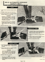 MA-5 belt info from F-100D flight manual